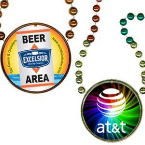 Full Color Custom Mardi Gras Beads