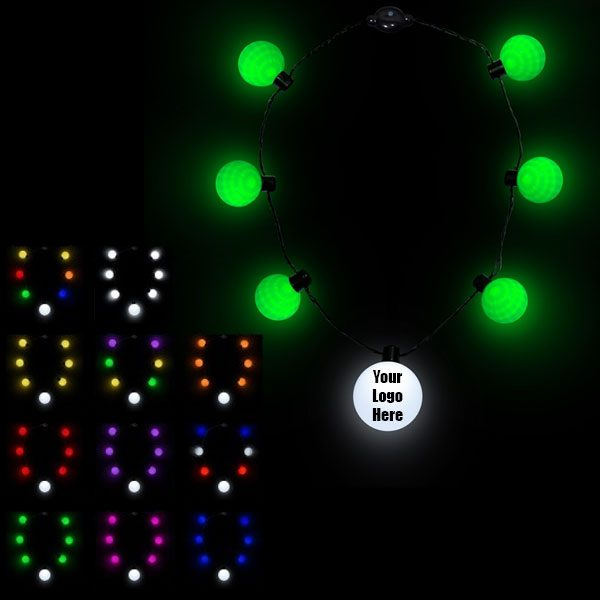 LED Ball Necklace